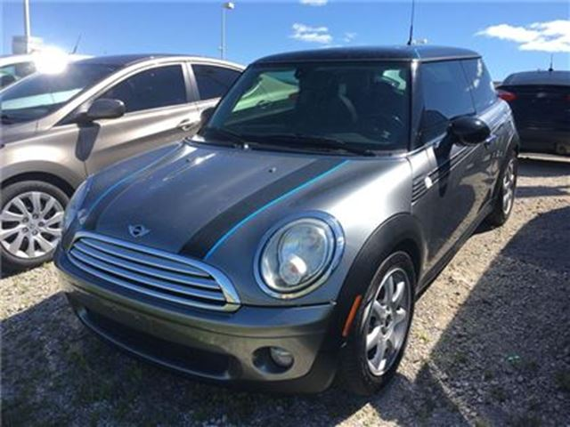 2009 MINI COOPER 2DR HARDTOP w/ LEATHER, SUNROOF, HEATED SEATS in Barrie, Ontario