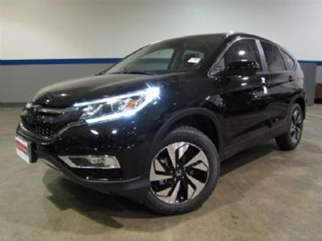 2015 honda cr v awd touring w extended warranty black. Black Bedroom Furniture Sets. Home Design Ideas