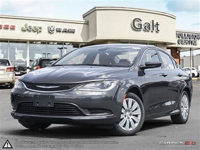 2016 chrysler 200 lx grey galt chrysler dodge ltd. Black Bedroom Furniture Sets. Home Design Ideas