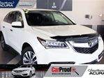 2016 Acura MDX Navigation, AWD, sunroof, leather, back up cam, Bl in Red Deer, Alberta