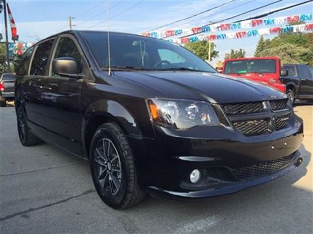 2016 dodge grand caravan new sxt blacktop dvd camera bluetooth oakville ontario used car. Black Bedroom Furniture Sets. Home Design Ideas