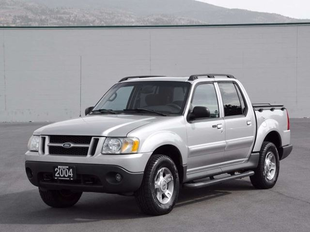 2004 ford explorer sport trac xlt grey auto loan kelowna. Black Bedroom Furniture Sets. Home Design Ideas