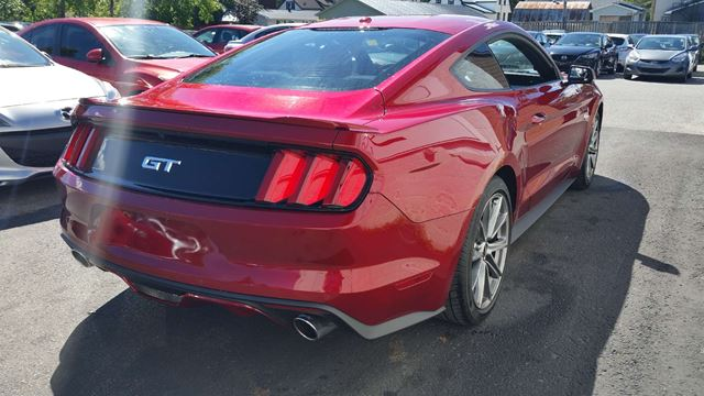 2015 ford mustang gt premium richmond ontario used car for sale 2582208. Black Bedroom Furniture Sets. Home Design Ideas