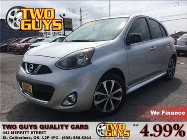 2015 NISSAN MICRA SR BACK UP CAMERA in St Catharines, Ontario