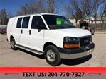 2015 GMC Savana 2500 **PRICE REDUCED** LEASE OR FINANCE in Winnipeg, Manitoba