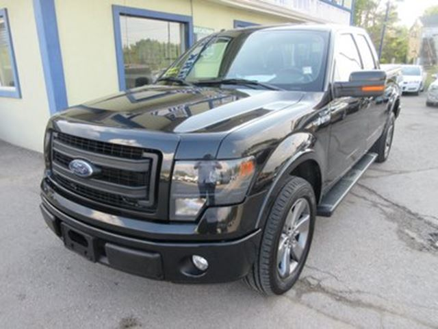 2014 ford f 150 loaded fx2 edition 5 passenger 5 0l v8 rwd black broadway auto sales. Black Bedroom Furniture Sets. Home Design Ideas