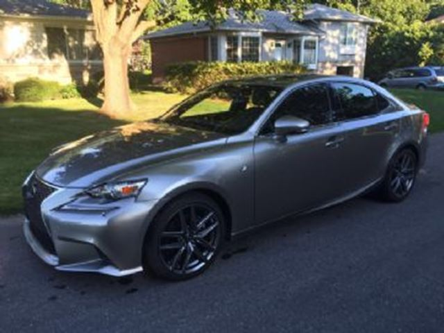 2015 lexus is 250 awd f sport 2 navigation mississauga ontario used car for sale 2583205. Black Bedroom Furniture Sets. Home Design Ideas
