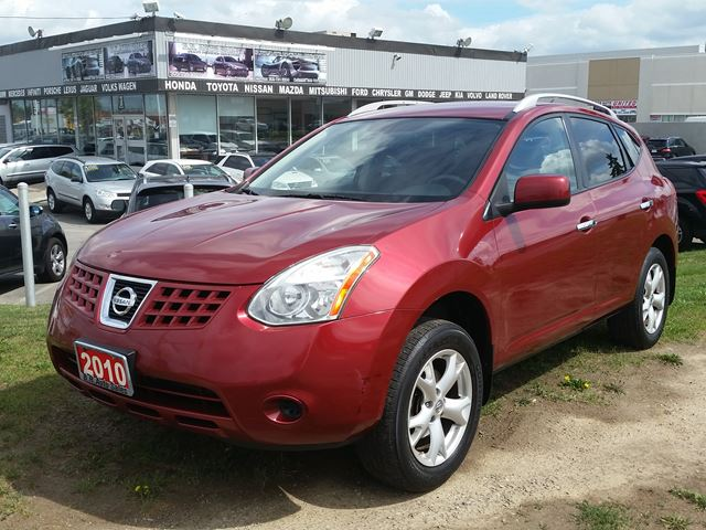 2010 nissan rogue sl brampton ontario used car for sale. Black Bedroom Furniture Sets. Home Design Ideas