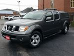 2008 Nissan Frontier LE,4 DR-CREW,4.0 LTR,SUNROOF,LEATHER,ARE-CAP in Dunnville, Ontario