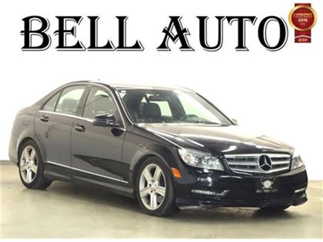 2011 mercedes benz c class c300 4matic 93kms leather for Mercedes benz ontario dealers