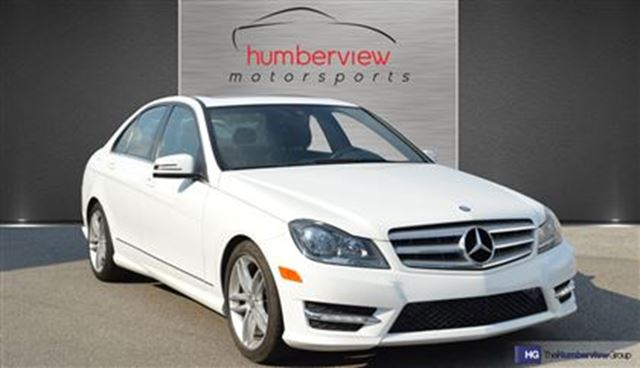 2013 mercedes benz c class c 300 4matic white humberview for 2013 mercedes benz c class c 300 4matic