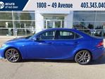 2014 Lexus IS 350 F SPORT in Red Deer, Alberta