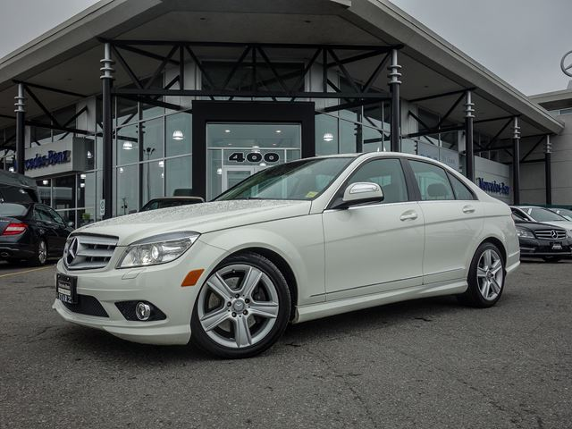 2009 mercedes benz c300 4matic sedan calcite white star for 2009 mercedes benz c 300
