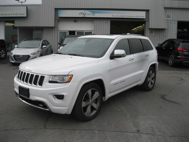 2015 jeep grand cherokee overland white my car kingston. Black Bedroom Furniture Sets. Home Design Ideas