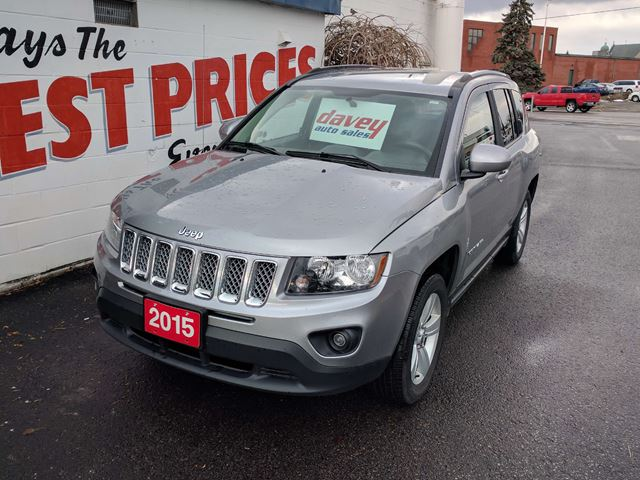 2015 jeep compass sport north 4x4 alloy wheels cruise control oshawa ontario car for sale. Black Bedroom Furniture Sets. Home Design Ideas