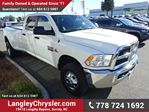 2014 Dodge RAM 3500 SLT W/MANUAL TRANSMISSION & SAFETY REAR CAMERA in Surrey, British Columbia