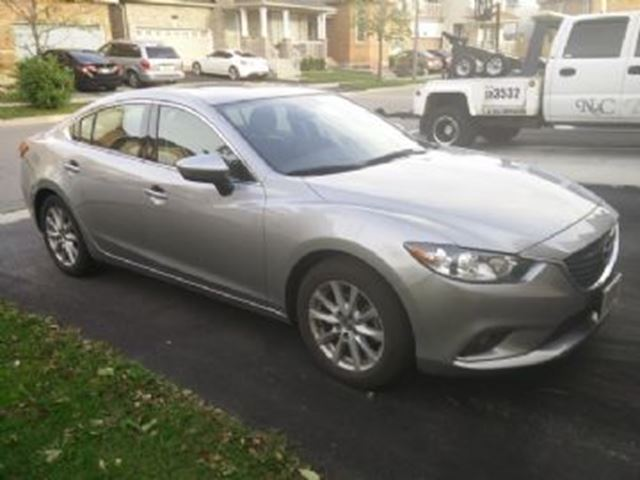 2015 Mazda MAZDA6 GS SKY-Active w/Luxury Package in Mississauga, Ontario
