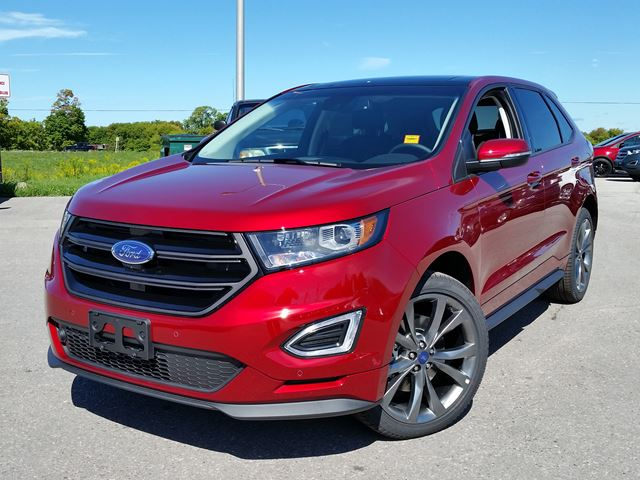 2016 ford edge sport red taylor ford new car. Black Bedroom Furniture Sets. Home Design Ideas