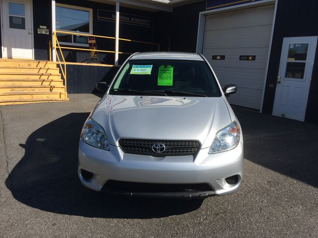 2005 toyota matrix alexandria ontario used car for sale. Black Bedroom Furniture Sets. Home Design Ideas