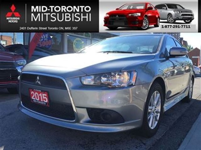 2015 Mitsubishi Lancer SE ** auto,air, alloy wheels, power options in Toronto, Ontario