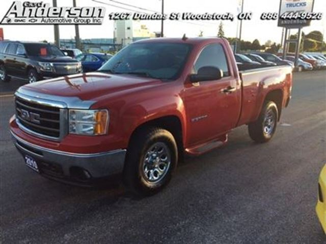 2010 gmc sierra 1500 wt certified red gord anderson automotive group. Black Bedroom Furniture Sets. Home Design Ideas