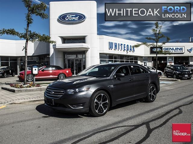 2015 Ford Taurus SEL, LEATHER, NAVIGATION, MOONROOF, 20WHEELS in Mississauga, Ontario