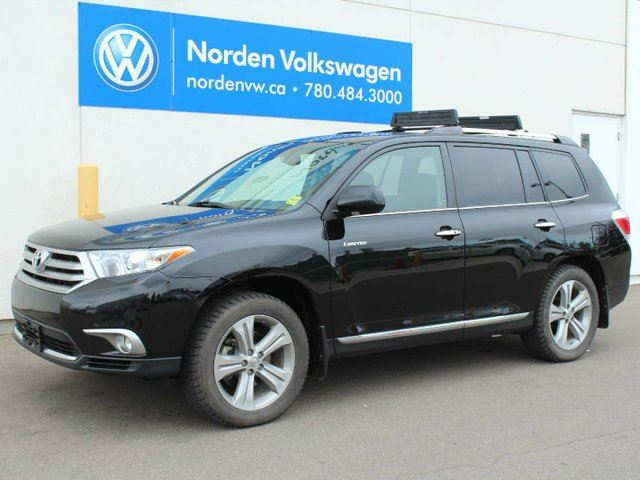 2013 toyota highlander v6 limited black norden volkswagen. Black Bedroom Furniture Sets. Home Design Ideas