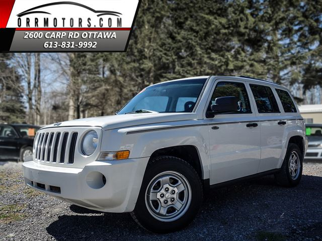 2008 jeep patriot sport 2wd white orr motors. Black Bedroom Furniture Sets. Home Design Ideas