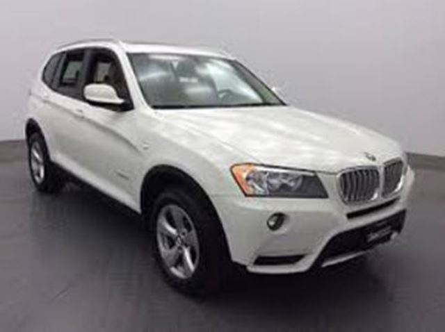2012 BMW X3 AWD 28i xDrive Premium, Tech Packs + Certified Lease in Mississauga, Ontario