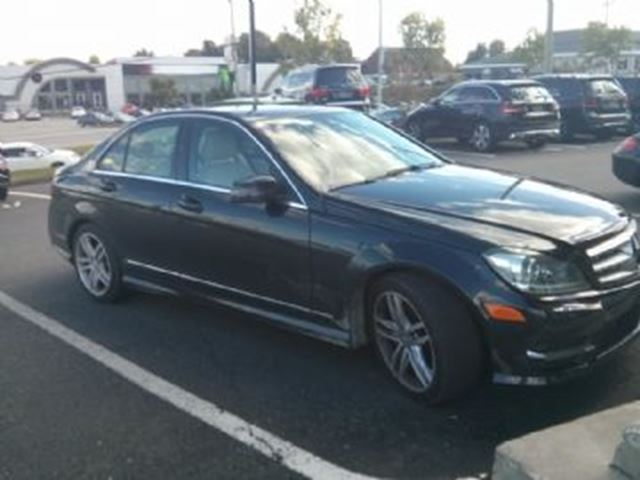 2013 mercedes benz c class black lease busters for Lease mercedes benz c class