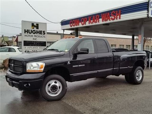 2006 dodge ram 3500 sport toronto ontario used car for. Black Bedroom Furniture Sets. Home Design Ideas