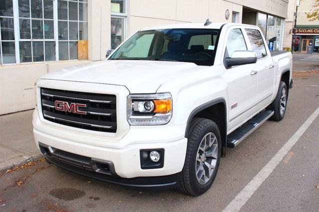 2015 gmc sierra 1500 all terrain white diamond loaded finance. Black Bedroom Furniture Sets. Home Design Ideas