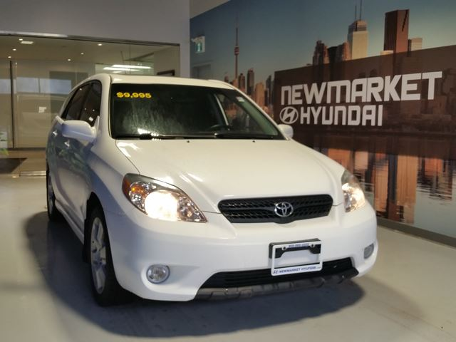 view the 2008 toyota matrix xr details page