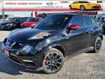 2015 Nissan Juke NISMO RS AWD w/leather accent interior,NAV,climate ctrl,rear cam, in Cambridge, Ontario