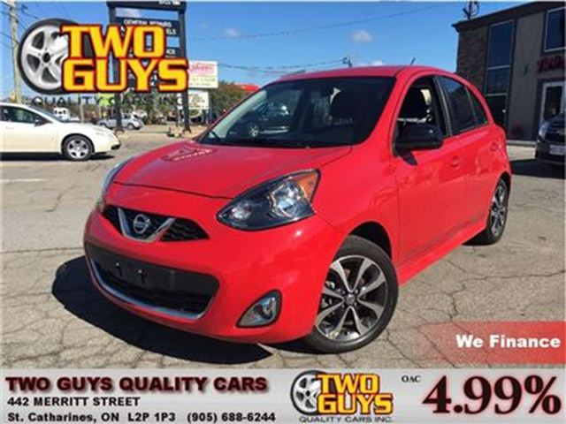 2015 NISSAN MICRA SR REARVIEW CAMERA in St Catharines, Ontario