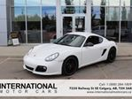 2011 Porsche Cayman S! LOW KMS! CARBON BRAKES! NAVI! MINT! in Calgary, Alberta