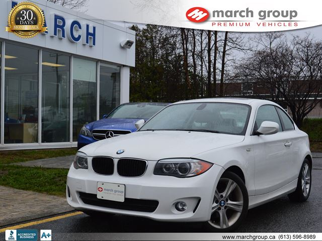 2012 Bmw 1 Series Coupe Ottawa Ontario Used Car For Sale 2588383