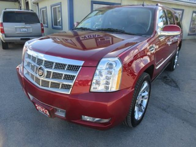 2013 cadillac escalade esv loaded platinum edition 7 passenger 6 2l. Cars Review. Best American Auto & Cars Review