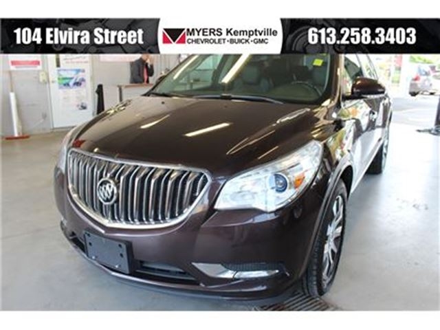 2016 BUICK ENCLAVE Leather AWD Dual Roof Navigation! in Kemptville, Ontario