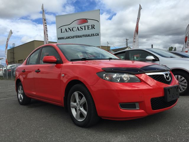 2009 mazda mazda3 i sport 4 door red lancaster auto. Black Bedroom Furniture Sets. Home Design Ideas
