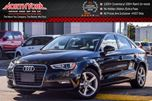 2016 Audi A3 1.8T Komfort CleanCarProof/1-Owner Sunroof Bluetooth Htd Front Seats 17Alloys  in Thornhill, Ontario