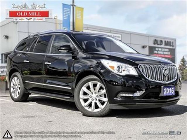 2016 buick enclave premium toronto ontario used car for sale 2591345. Black Bedroom Furniture Sets. Home Design Ideas