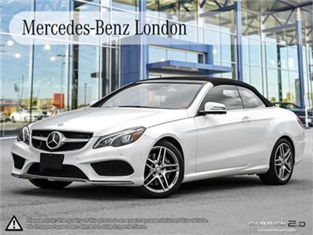2017 Mercedes-Benz E400 Cabriolet in London, Ontario