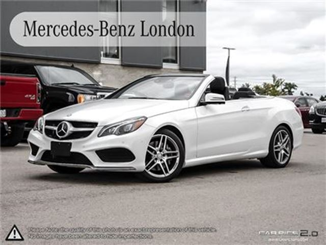 2017 mercedes benz e400 cabriolet london ontario used for Mercedes benz london ontario