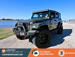 2015 Jeep Wrangler Unlimited SAHARA, LIFTED JEEP WITH FULL WARRANTY, FRONT RAMMING BUMPER WITH WINCH, LED LIGHT BAR, SIDE ROCK RAILS, NO ACCIDENTS, LOCALLY DRIVEN, FREE LIFETIME ENGINE WARRANTY! in Richmond, British Columbia