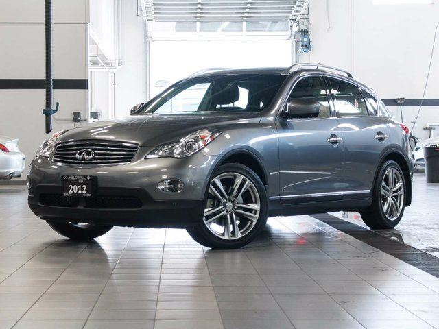 2012 infiniti ex35 premium grey kelowna infiniti nissan. Black Bedroom Furniture Sets. Home Design Ideas