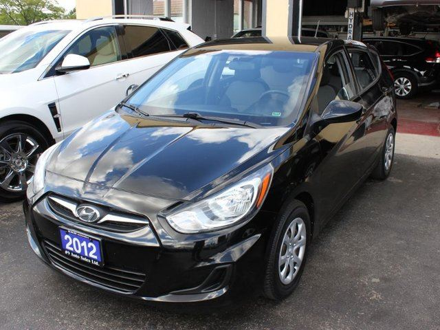 2012 hyundai accent gls black 9 auto sales. Black Bedroom Furniture Sets. Home Design Ideas