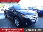 2013 Ford Edge Limited w/Leather Interior & Safety Rear Camera in Surrey, British Columbia