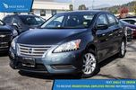 2015 Nissan Sentra 1.8 SV Backup Camera and Air Conditioning in Coquitlam, British Columbia