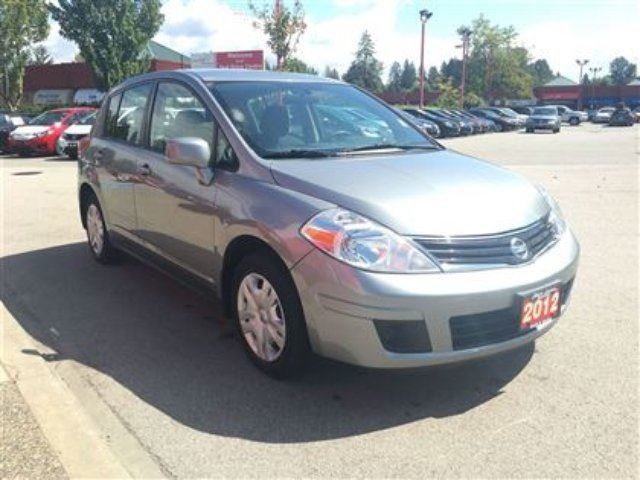 2012 NISSAN VERSA - Accident Free! in Maple Ridge, British Columbia